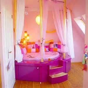 Girls bedroom girl rooms flip flops toddler girls beds round beds for