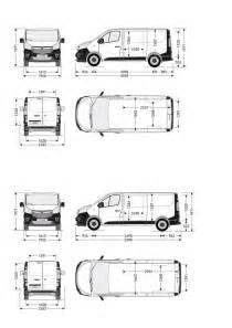 Vauxhall Dimensions Vauxhall Vivaro Sportive