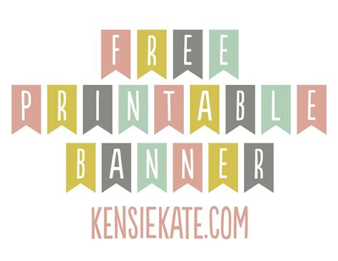 freebie friday printable banner