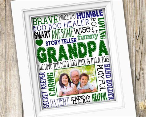 Fathers Day  Ee  Gift Ee   Printable  Ee  Grandpa Ee    Ee  Gift Ee    Ee  From Grandkids Ee