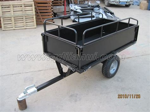 lbs atv trailer  dump cart buy atv trailer