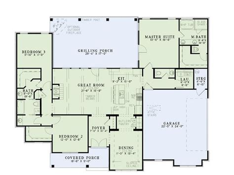 ranch house plans with jack and jill bathroom house plan 17 2400 i love the two bedrooms with jack