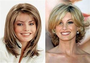 hairstyles 40 years shoulder lenght long hairstyle for women over 50 years old medium length