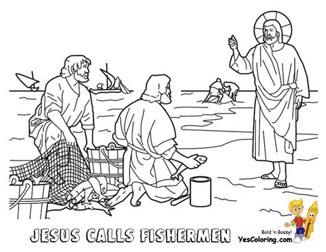 coloring pages of jesus fishing glorious jesus coloring bible coloring free printable