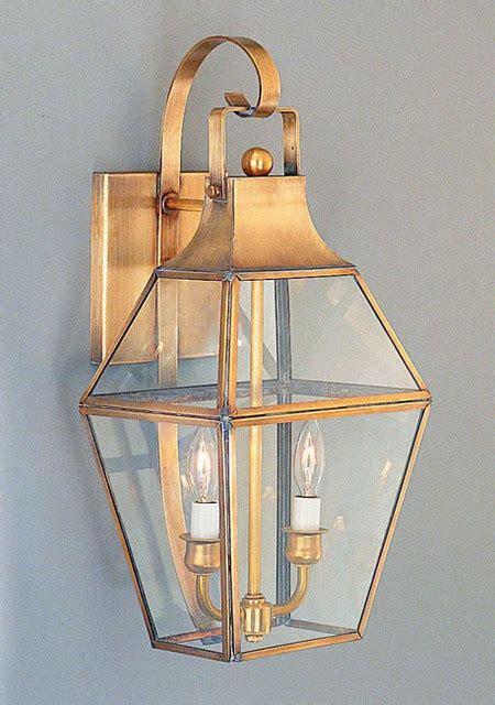 Federal Period Georgian Colonial Lantern Traditional Period Outdoor Lighting