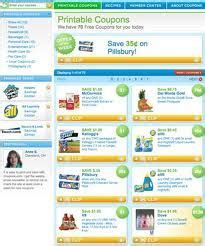 good website for printable grocery coupons 1000 images about coupon money saving websites on