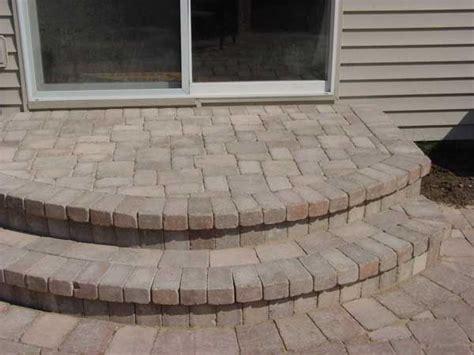 Unilock Steps Installation Lake County Il Unilock Paver Stoops Bricks Paver Stones