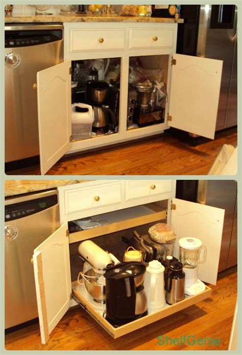 Appliance Shelf by 37 Best Images About Kitchen Organization Pull Out