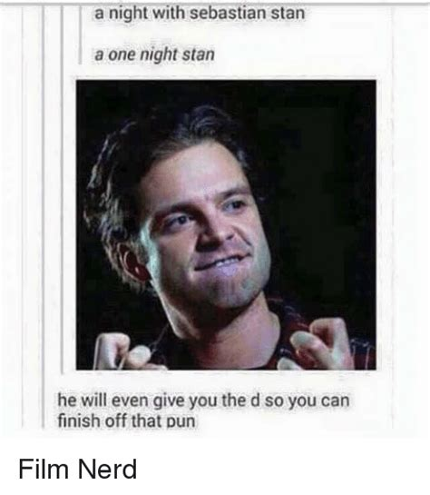 Stan Meme - a night with sebastian stan a one night stan he will even