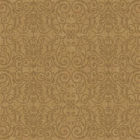 Wallpaper Sticker Motif Elegan Brown Square Ukuran 45 Cm X 10 M metallic gold gold tuscan scroll wallpaper