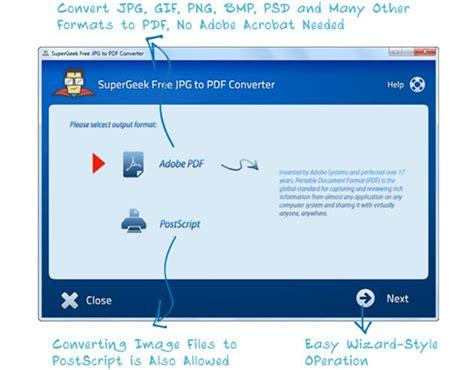 convertir imagenes a pdf online free supergeek free jpg to pdf converter unos clics para