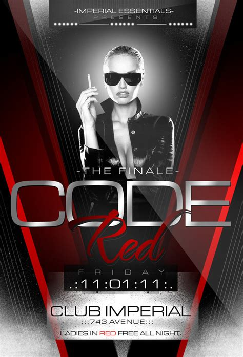12 hd best flyers collection code red party flyer by imperialflyers on deviantart
