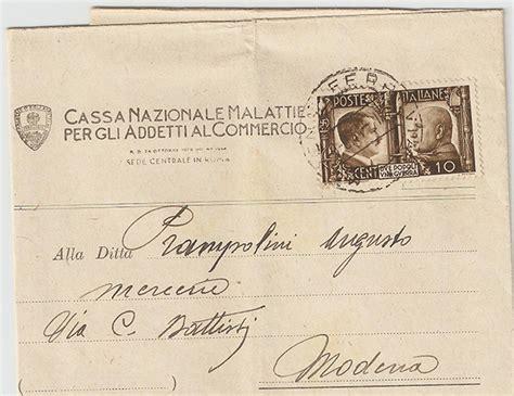 affrancatura lettere storia postale italiana