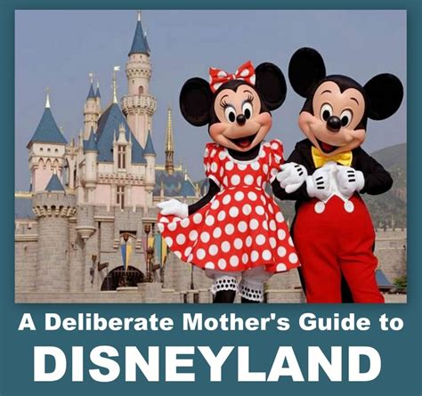 A Place Parents Guide Free Disneyland Guide Want Some Great Ideas For Strengthening Your Family At The Happiest
