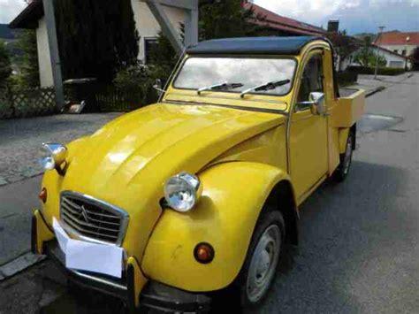 Ente Auto Schaltung by 2cv Ente Pickup Lkw Cabrio F 252 R Werbung Mit Tolle