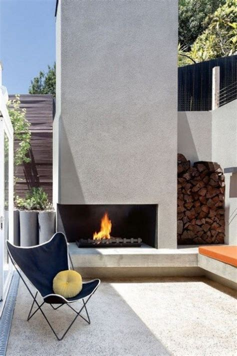 modern outdoor fireplace 34 inspiring outdoor fireplaces comfydwelling