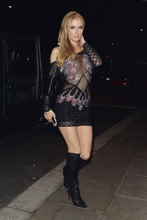 Frock Horror Of The Week Hiltons Chemise Wearing Lunch Date by Leather Pictures To Pin On Pinsdaddy