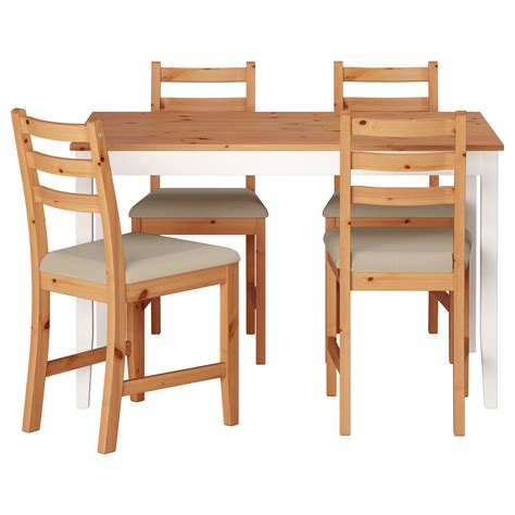 table and 4 chairs lerhamn table and 4 chairs light antique stain ramna beige