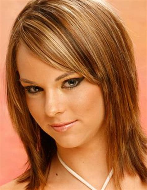 images layered hairstyles for shoulder length hair medium length choppy layered haircuts