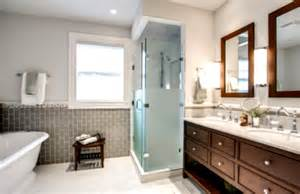 Modern Traditional Bathrooms Contemporary Traditional Bathrooms With Cool Lighting And Decoration Homelk