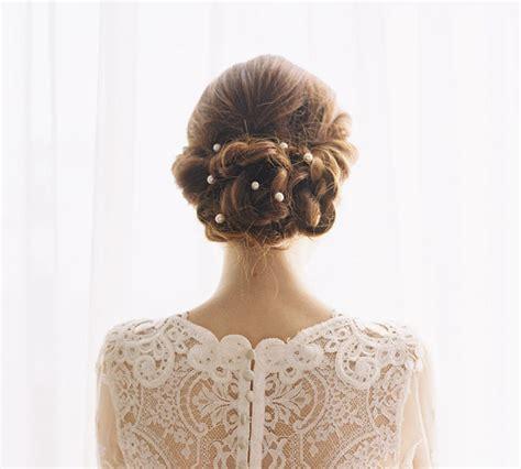 Hochzeitsfrisur Halb Hochgesteckt by Brautfrisuren Im 220 Berblick Dutt Chignon Hochgesteckt