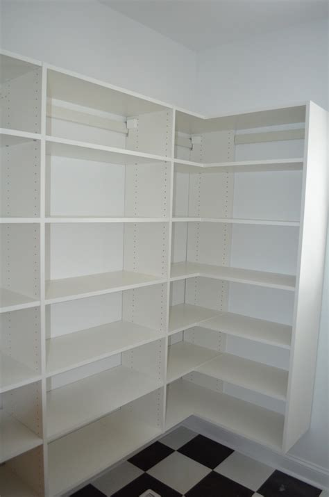 Wood Pantry Shelving Pantry Shelving Innovative Closet Glass Cornelius Nc