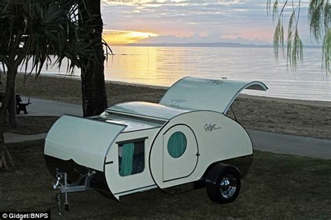 Slideout Awning Gidget Is The World S Smallest Caravan That Is Fully
