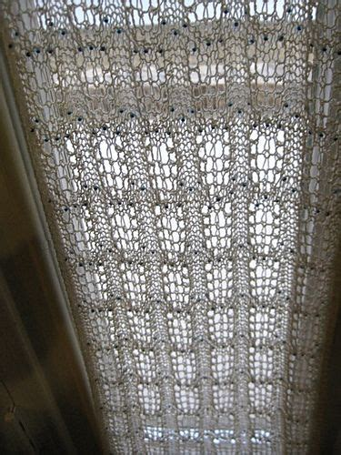 More Curtains and Valances to Knit ? 11 free patterns