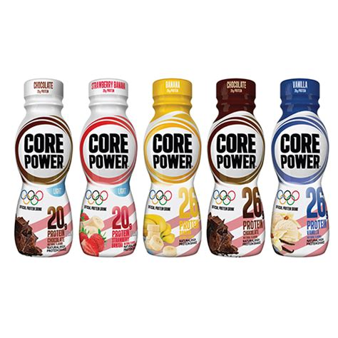 core power chocolate light core power recovery beverage cs products