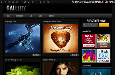 gallery themes blogger photo gallery blogger templates free download pakistan