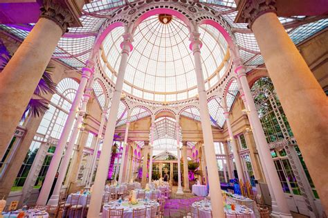 Great Wedding Photography by Syon Park Great Conservatory Wedding Photographer