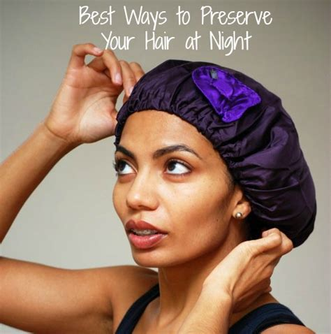 how to wrap hair for bed best ways to preserve your hair at night global couture blog