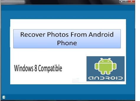 undelete photos android recover photos from android phone screenshot page