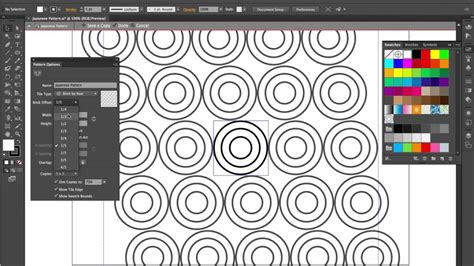 japanese pattern illustrator create a japanese pattern with adobe illustrator cs6 youtube