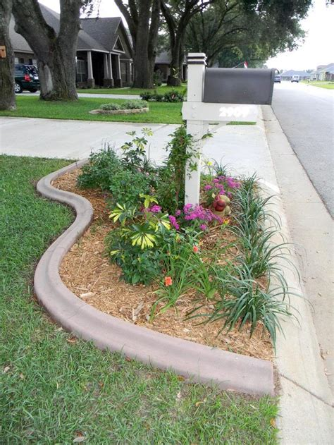 mailbox flower bed best 25 mailbox garden ideas on pinterest mailbox