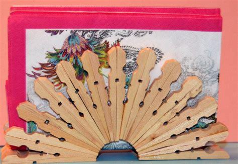 imagenes navideñas faciles de hacer servilletero con pinzas de madera manualidades para ni 241 os