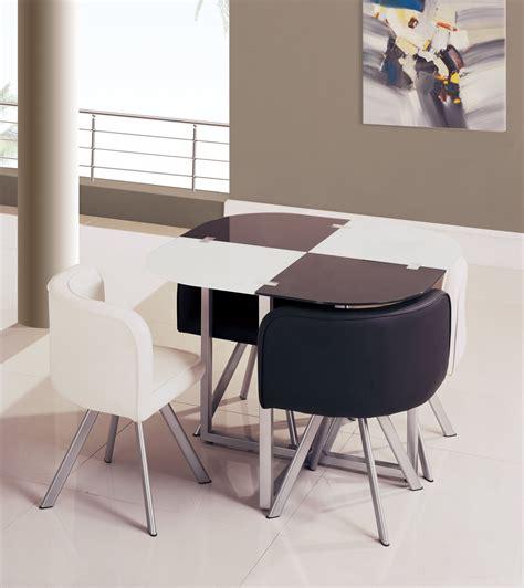 space saving dining room set space saver dining set homesfeed