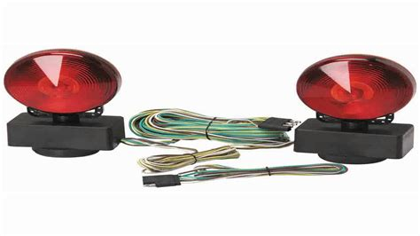 how to install magnetic trailer lights wiring diagrams