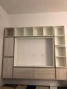 Ikea items multiple valje shelving units and a large 39 3 8 x 58