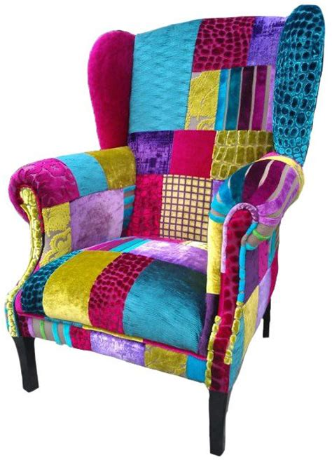 Patchwork Chairs Uk - 1000 images about upholstery on