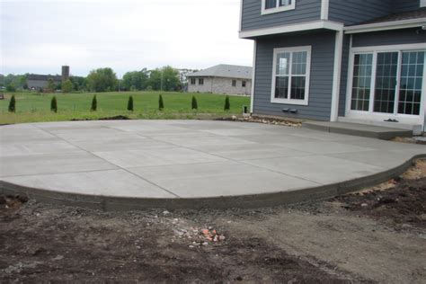 backyard sted concrete patio ideas new berlin wi concrete patio installation jbs construction