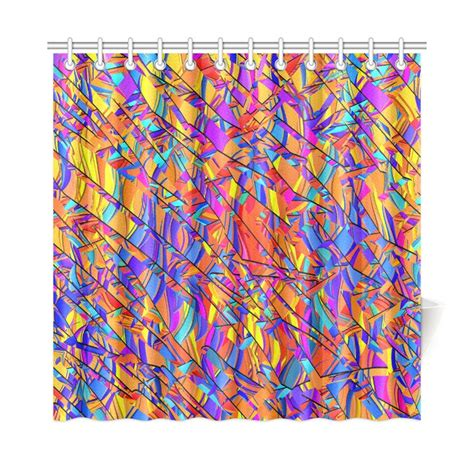 Bright Colorful Curtains 25 Best Ideas About Colorful Shower Curtain On