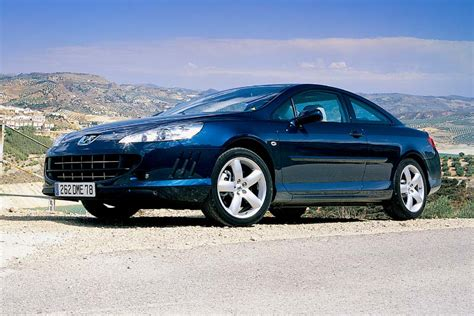 peugeot 407 coupe v6 pictures evo