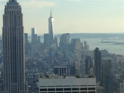 Observation Deck Freedom Tower by One World Trade Center Freedom Tower And The Statue Of