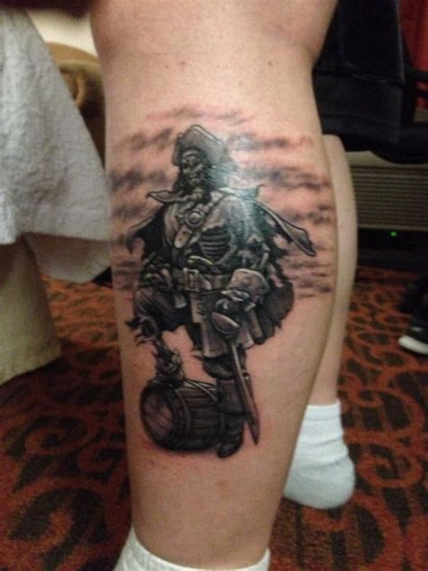 captain morgan tattoo 17 best images about on mexican skull