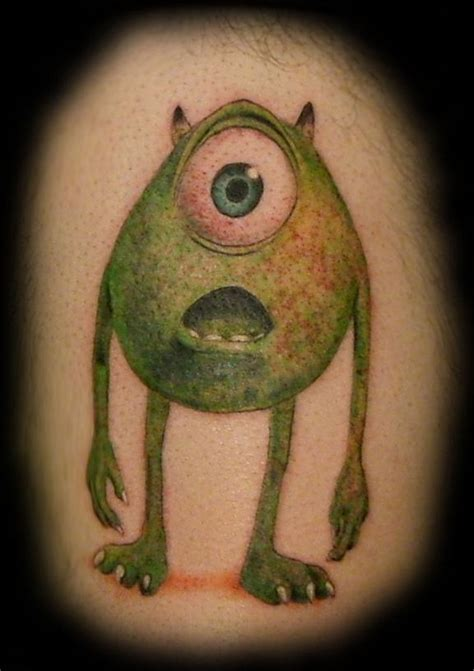 mike from monsters inc tattoos
