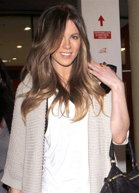 Kate Beckinsale Luckiest by Kate Beckinsale In Kate Beckinsale Arriving On A Flight At