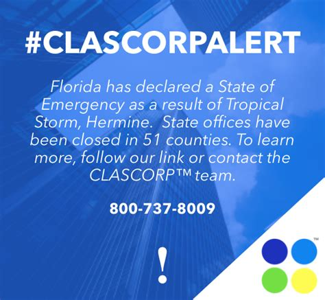 State Of Florida Office Closures fl state of emergency corpsmart