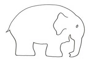elephant template printable lovemybooks free reading resources for parents