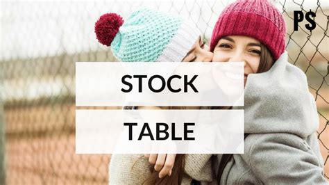 how to read stock table how to read a stock table in 3 minutes